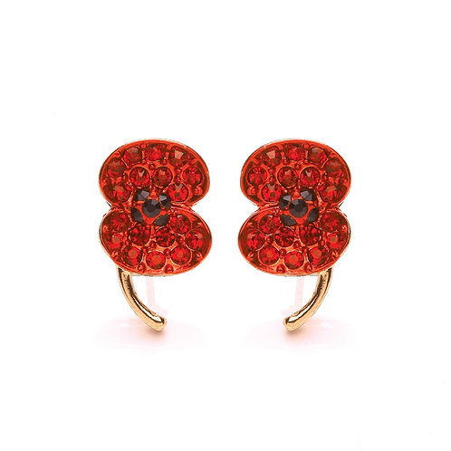 Poppy Collection Sparkle Poppy Earrings