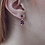 Thumbnail: Stone and Enamel Poppy Mini Drop Earrings