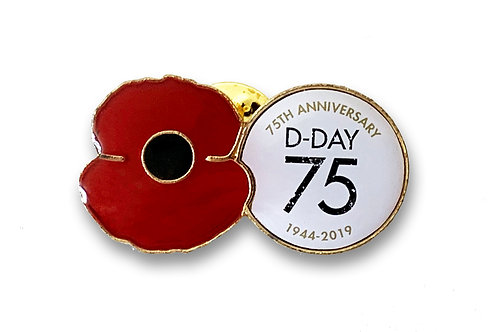75 Year D-Day Pin