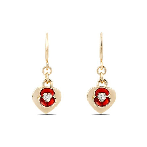 Home Is Where the Heart Is Drop Earrings