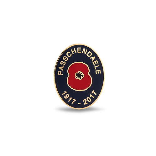 Passchendaele 100 Lapel Pin Badge