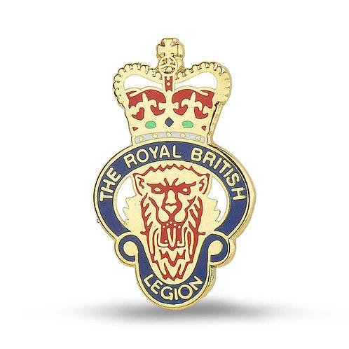 Members RBL Enamelled Lapel Badge