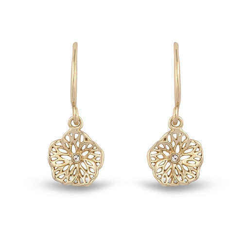 Filigree Poppy Earrings
