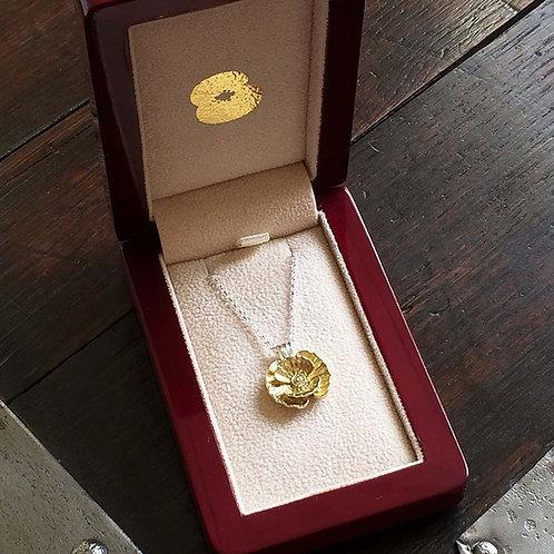 First World War Poppy Necklace