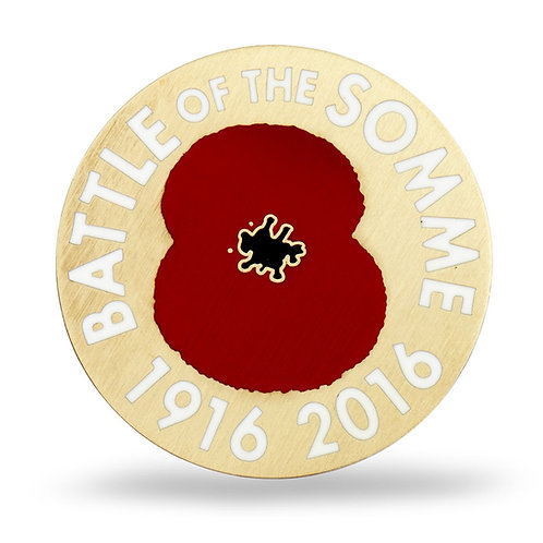 Battle of the Somme Lapel Pin