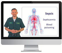 Sepsis E learning Sussex first aid train