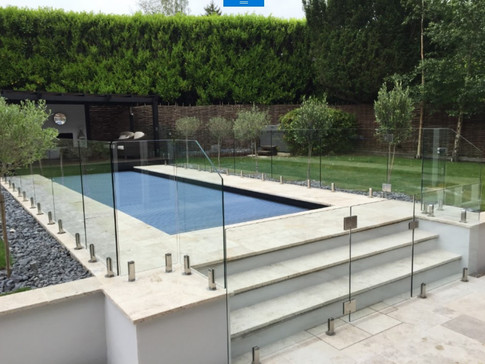 Safety Glass pool