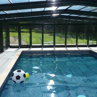 Swimming Pool and Roof