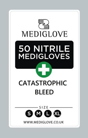 Mediglove Front Catastrophic Bleed