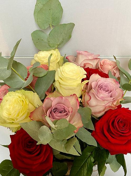 Country Roses  - medium