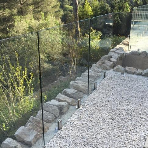 Bayhaam Pool Safety Glass