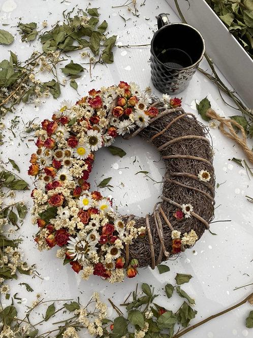 Bespoke dried wreath
