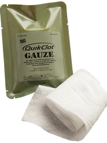 QuikClot Gauze Z-Medica haemostatic agent