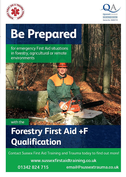 + F Forestry First Aid Training