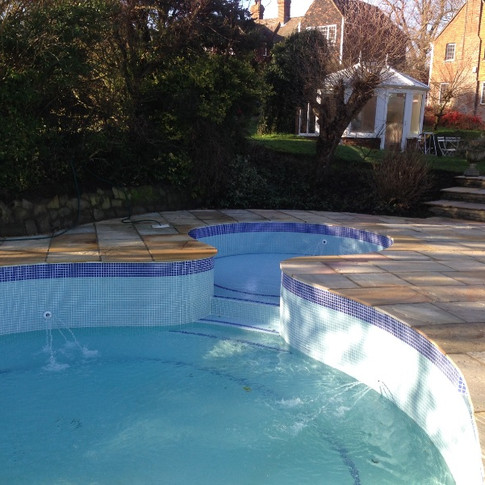 Bayham pool Refurbishment