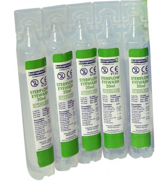 Eye Wash £0.25 each