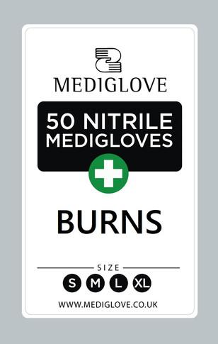 Mediglove Front Burns