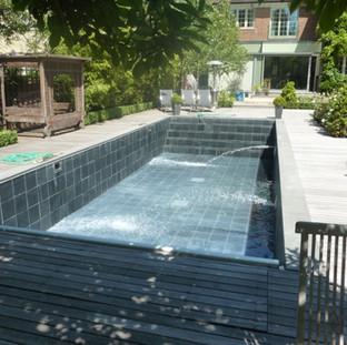 Swimming Pool Slate Refurb London