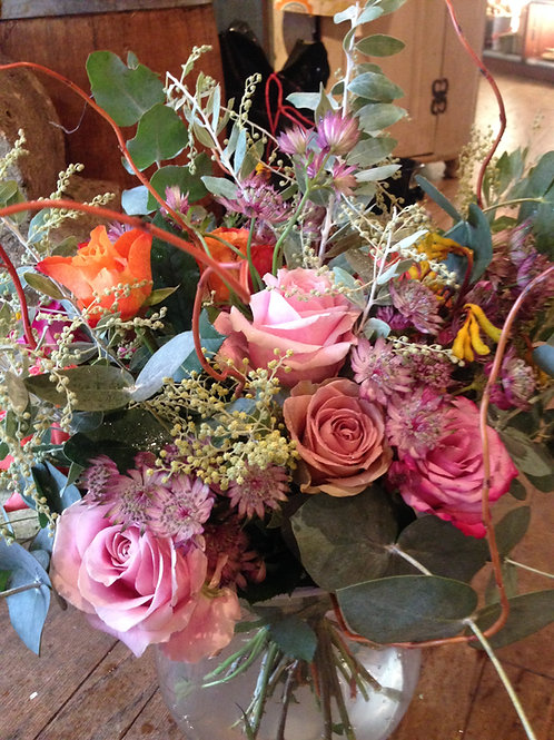 Country rose bouquet - large