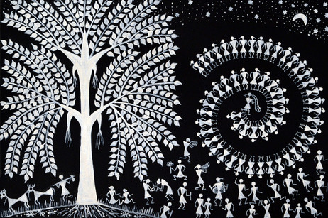 Tree of life and Tarpa dance, 2017