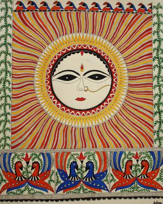 Savitri-the evening Sun, 2013