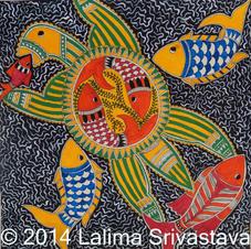 Aquatic life, 2014 (SOLD)