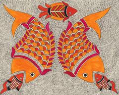 Twin bait fish, 2018 (SOLD)