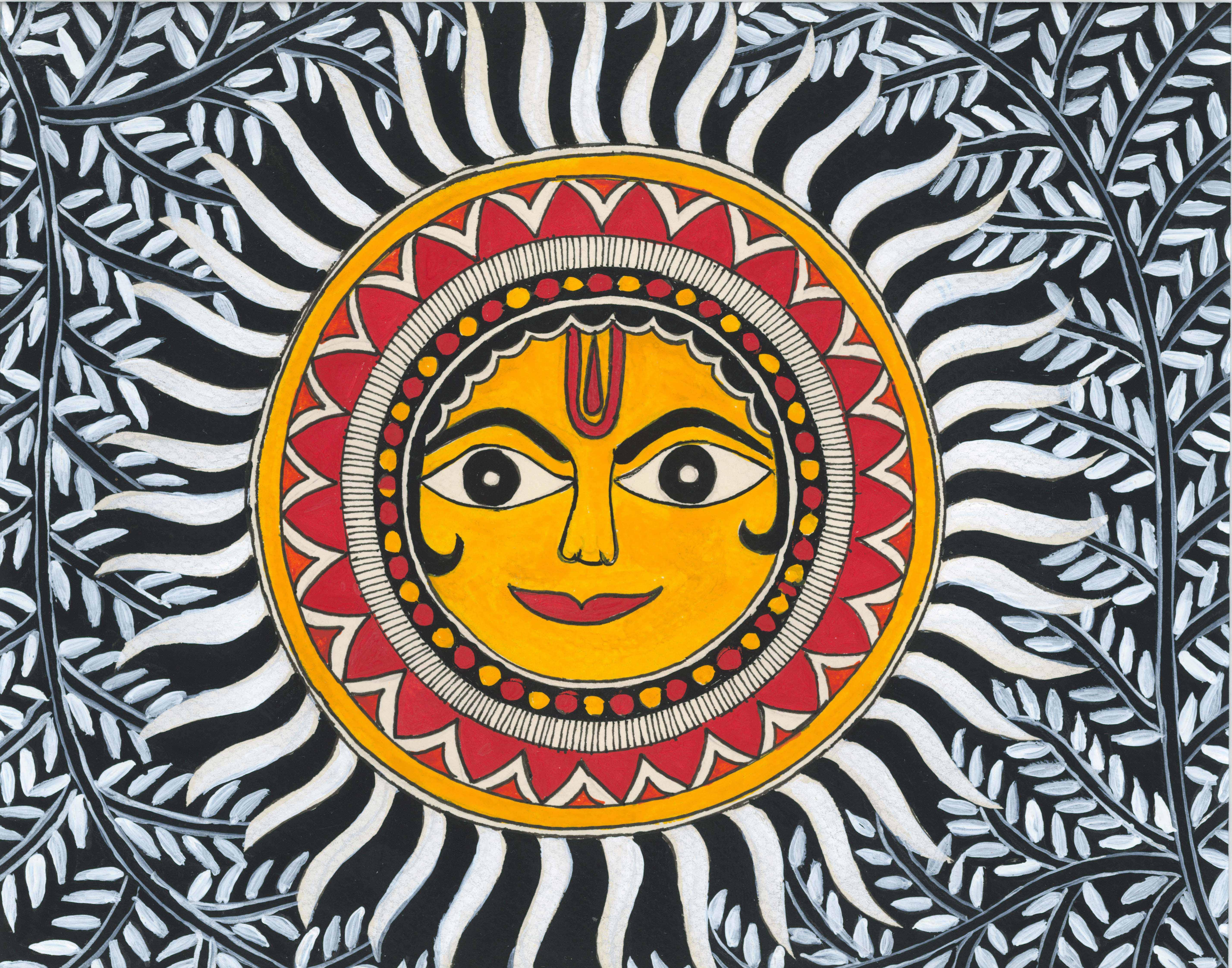 Tarangit Savitri kiran-wavy sun rays