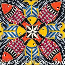 Fish harmony, 2015 (SOLD)