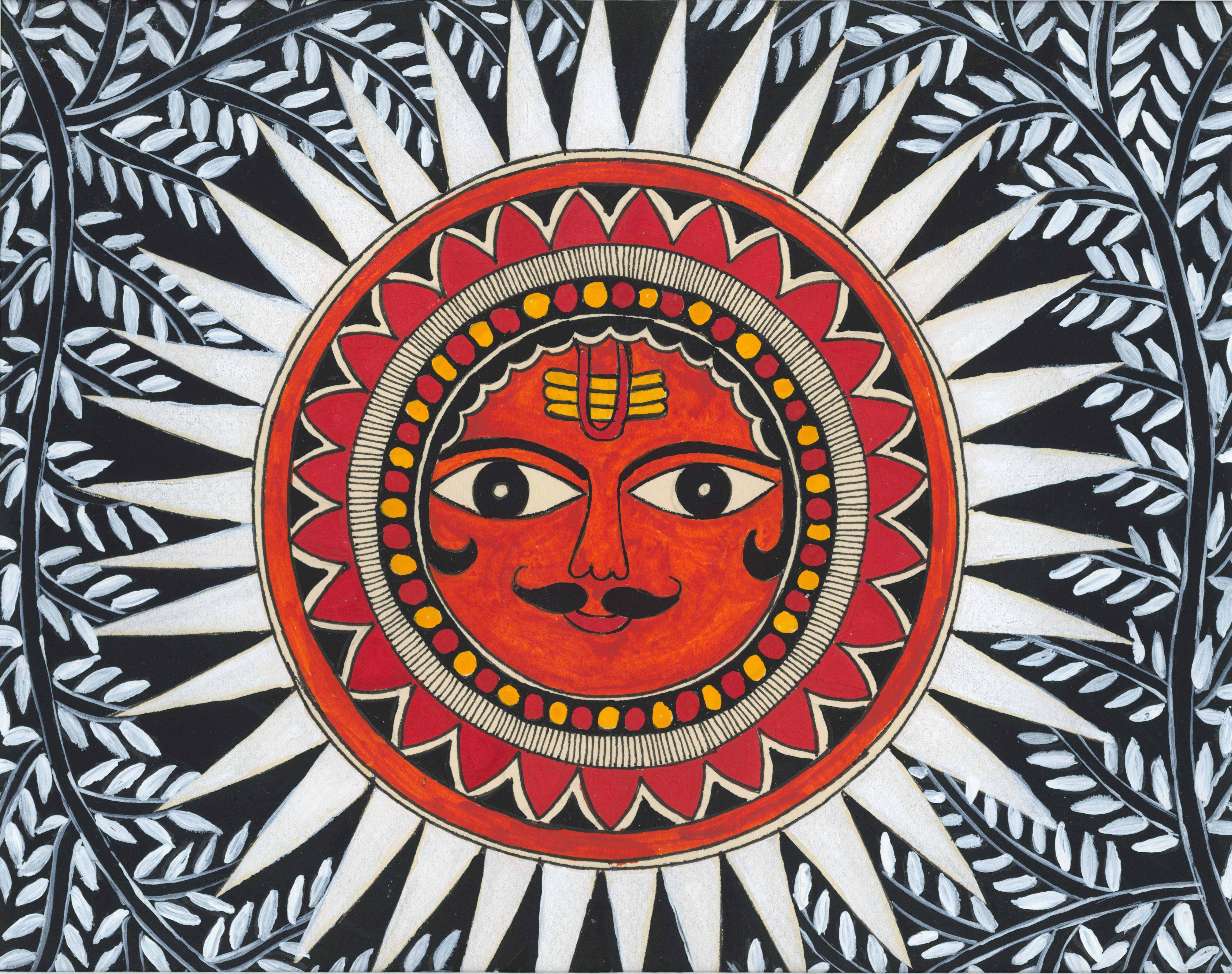 Trikone Surya kiran- Triangular sun rays