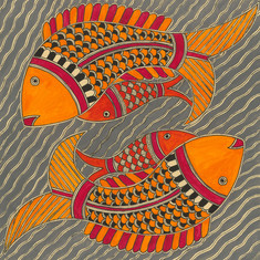 Twin fish mothers, 2018