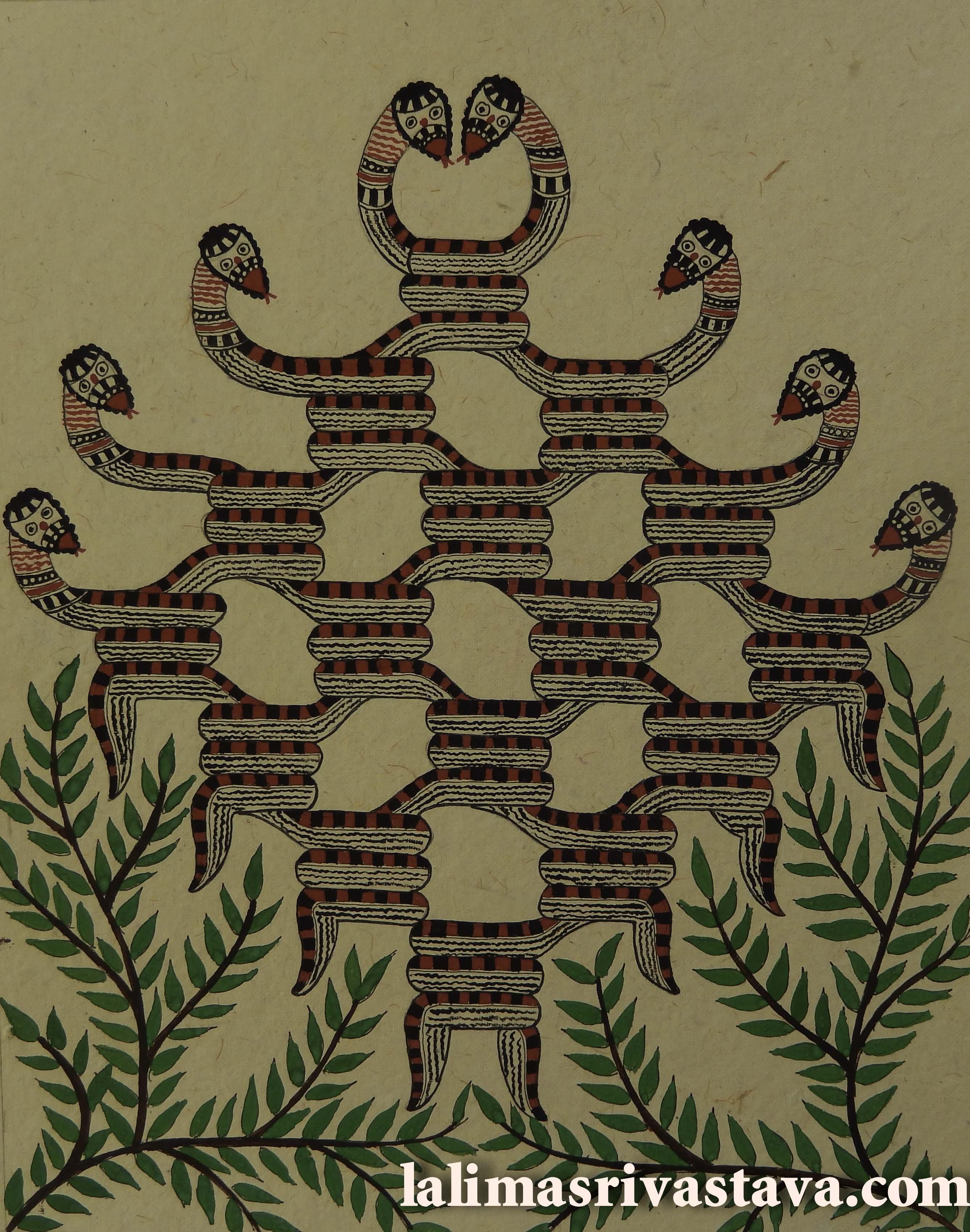 Entangled snakes