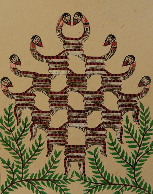 Entangled Snakes, 2013 (SOLD)