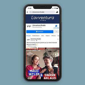 L'Avventura Studio Facebook iPhone