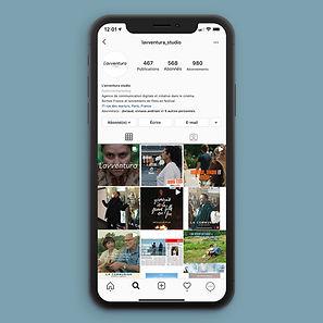L'Avventura Studio Instragram iPhone