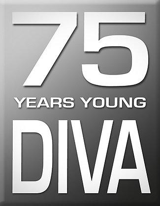 75 Years Diva-Gray