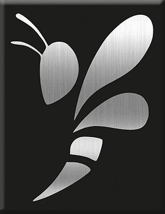 Emblem Wasp-Silver