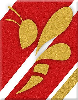 Състезателни шестдесетте Wesp злато