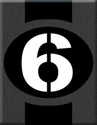 Startnumber-6-Sei Giorno-сива емблема