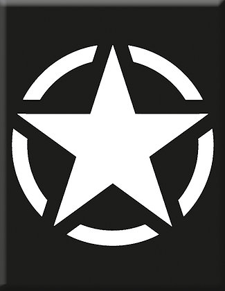 Съюзническа звезда - черно
