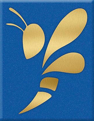 Emblem Wasp-Gold-Supersport