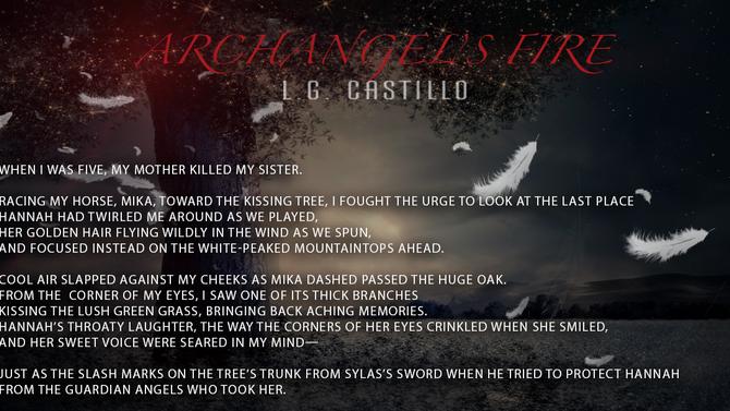 Fallen Angel Book Update