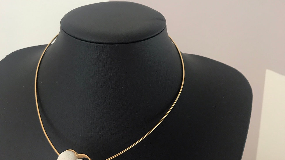 VOLCANO gold necklace