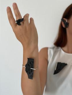 PANGEA bracelet and ring