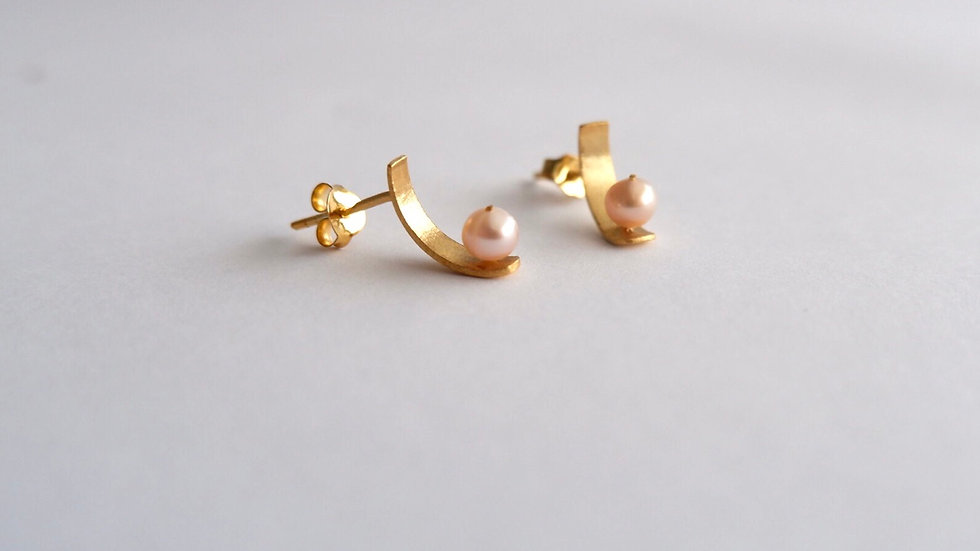 Mini Golden rose pearls