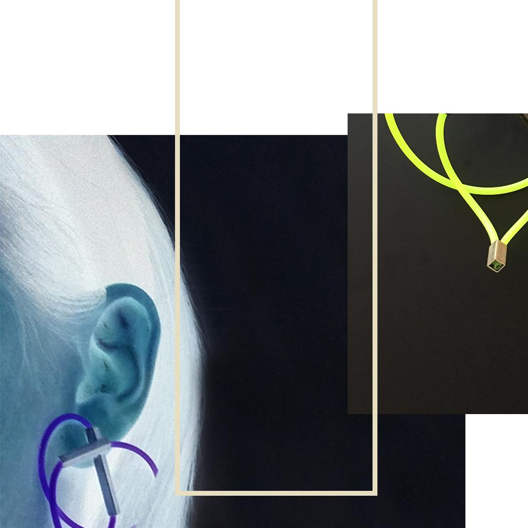 NEON EARRING