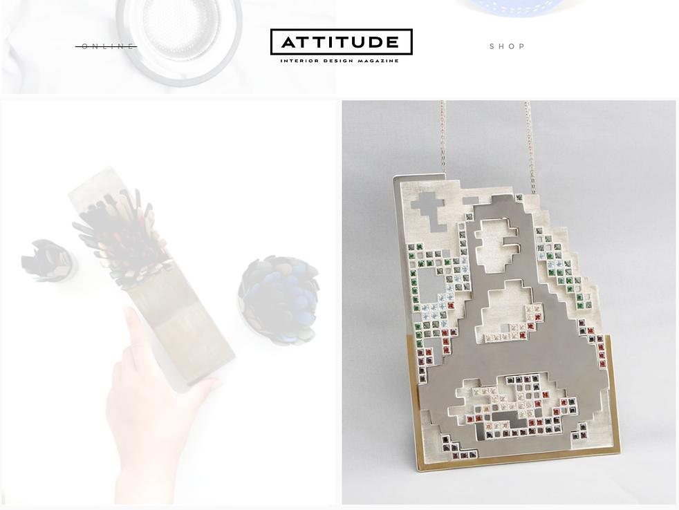 revista ATTITUDE interior design magazine JOANA DESIGN STUDIO JOALHARIA