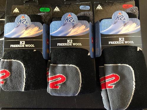 K2 Freeride Wool (tilbud ved 3 stk. 250)