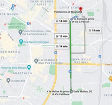 hotel città studi milano mezzi pubblici