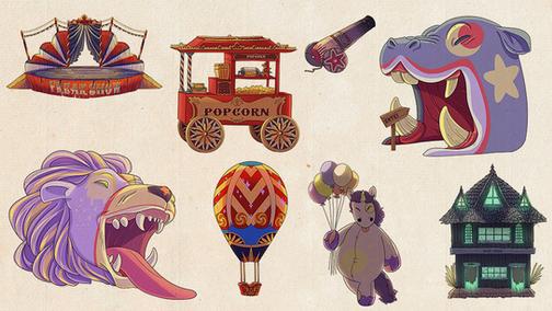Concept art Fantastic Circus